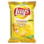 Chips cheese   onion.