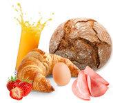 Ontbijt in je bungalow